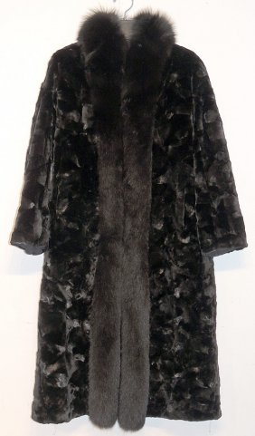 Danish Black Mink Coat