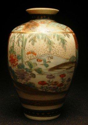 Fine Miniature Satsuma Vase