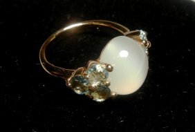 18KRG Pomellato Luna Ring