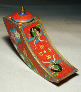 19thc. Chinese Cloisonne Box