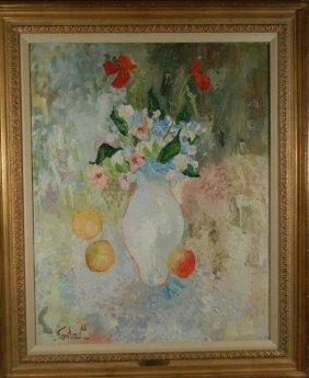 "Robert Fonta, ""Fleurs Printanieres"""