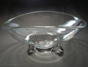 Steuben Oblong Bowl