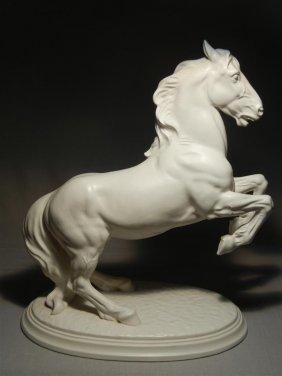 Keramos Austria Porcelain Horse Figure