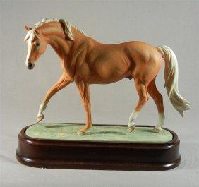 Royal Worcester, Palomino Stallion