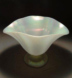 Steuben Calcite Vase