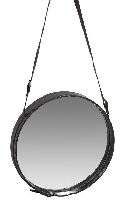 1059 jacques adnet 1900 1984 dans le g ut miroir for Miroir noir review