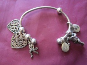 Sterling Bracelet And Charms-1.2