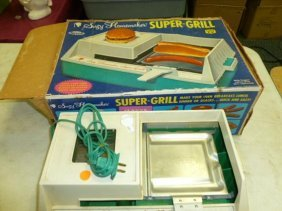 Suzy Homemaker Super Grill With Box
