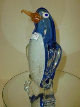 """Murano Glass Penguin-9"""""""