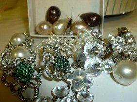 Box Lot Assorted Costume Jewelry
