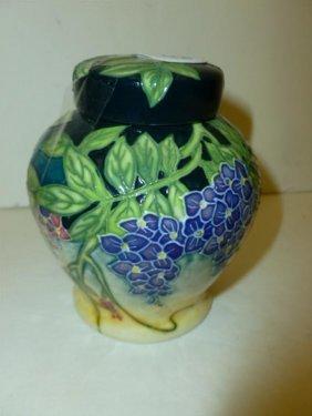 Round Covered Dresser Jar