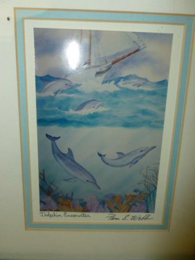 Water Color Print- By Pam E. Webb