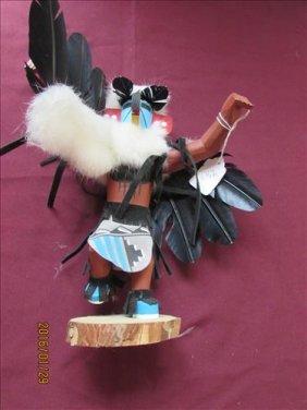 American Indian Kachina Doll By Navajo Harrison Jones