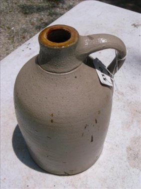 Unmarked Salt-glazed? Stoneware Jug/crock