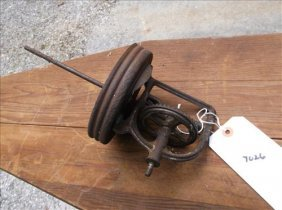 """Old Butter Churn Parts 11""""h"""