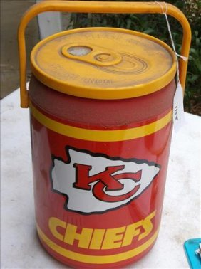 Cool! Kansas City Chiefs Can-shaped Beverage Cooler