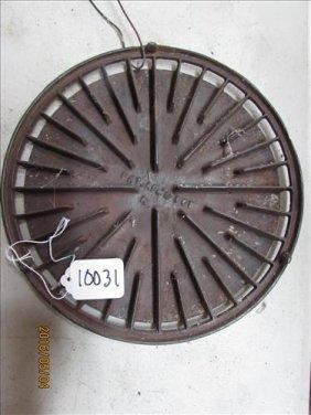 Vintage Stove Top Cast Iron 8 3/4 Burner