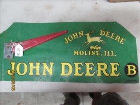 John Deere Mail Box Side 20 1/2 Long