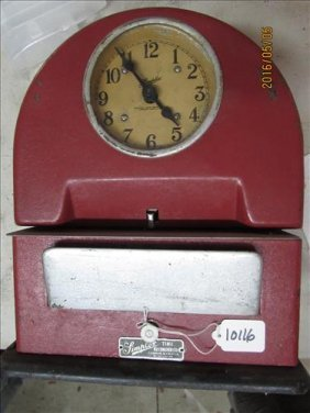 Simplex Time Clock Garder Mass. 12 1/2""