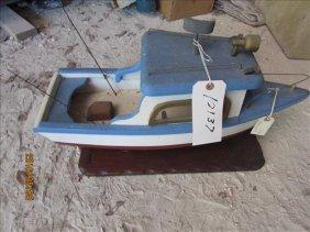 """Wood Boat 24"""""""