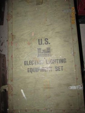 Us Corp Of Engineers Electrical Equipment Chest Great