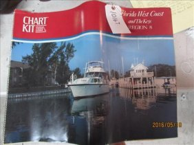 Boat Charts Book, Florida Coast & Keys Region 8