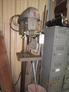 Delta Drill Press 6ft Tall
