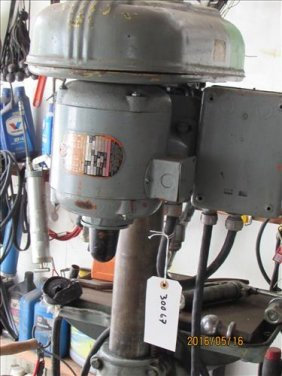 Delta Drill Press On Stand 3 Phase