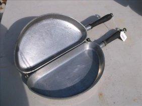 "Club Aluminum Ware Omlet Pan 18 1/2""l"