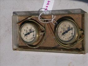 2 Jas. P. Marsh Serviceman Super-heat Thermometers