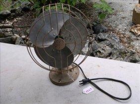 Early Electric Tabletop Fan-ge/general Electric