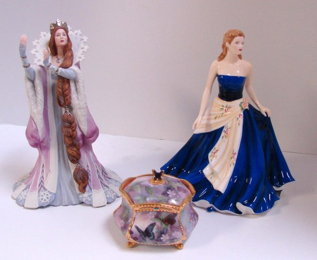 Royal Doulton Amp Lenox Figurines Lena Liu Music Bo Lot 20