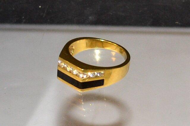Passman Black Coral Rings