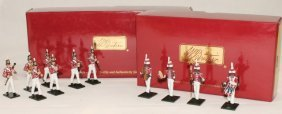 Britains Sets #43105 And #43158 Coldstream Band