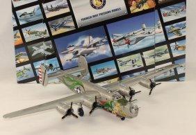 Franklin Mint Airplane B24 Dragon Tail