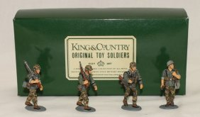 King And Country Wwii Wss8 Ss Panzer Grenadiers