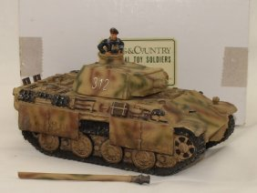 King And Country Wwii Ws23 Panther Tank