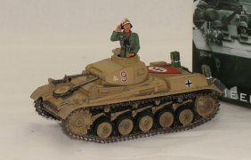 King And Country Wwii Ak030 Africa Corps Panzer