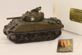 King And Country Wwii Iwj11 Usmc Sherman Tank