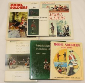 Model Soldiers, 6 Reference Books