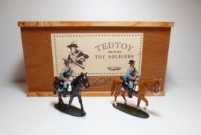 Tedtoy Set #tt335 Confederate Cavalry On The