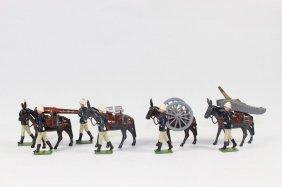 Britains Set #28 Mounted Artillery
