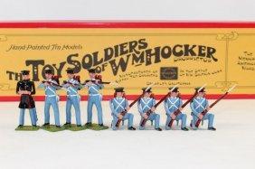 William Hocker Set #312 Us Infantry Firing