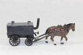 Charbens Horse Drawn Tar Wagon