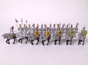 Johillco Medieval Knights Mounted And Foot