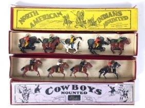Britains Set #152 & #179 Indians And Cowboys