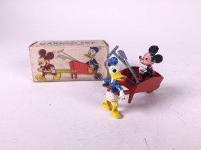 Salco Mickey Mouse And Donald Duck Garden Set