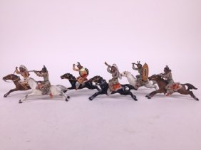 Heyde 60mm Mounted North American Indians