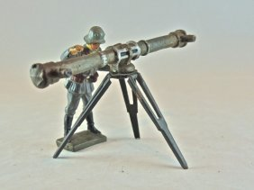 Rare Lineol Luftwaffe Height Finder+soldier