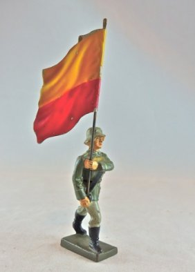 Lineol Rare National Flag Lippe Nw Germany